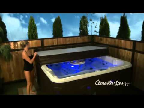 best rated hot tubs clearwater spas youtube. Black Bedroom Furniture Sets. Home Design Ideas