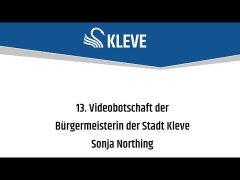 Corona - 13. Videobotschaft der Bürgermeisterin der Stadt Kleve, Sonja Northing (am 05.06.2020 um 13:54)