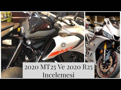 2020 YAMAHA MT25  Ve 2020 R25 İncelemesi