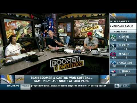 Boomer and Carton - Don't mess with Jerry Recco's family!