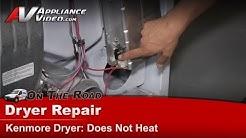 Kenmore Dryer Repair - Does Not Heat - 11066842500