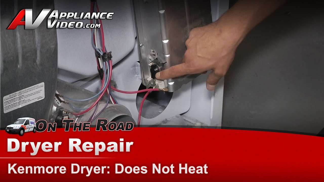 Kenmore Dryer Repair Does Not Heat 11066842500 Youtube Diagram
