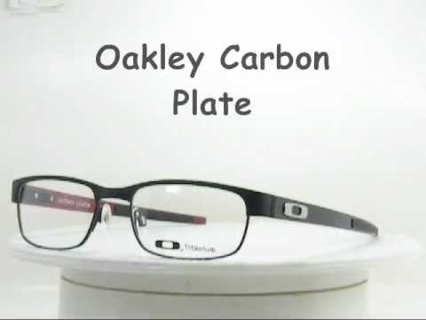 019aacf92ea Oakley Carbon Plate OX5079 0153 Carbon Fiber eyewear - YouTube