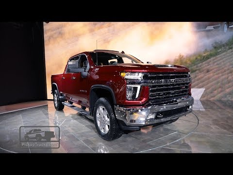 2020 Chevrolet Silverado 2500/3500: First Look – PickupTrucks.com