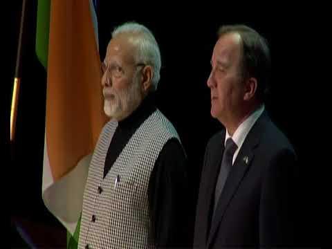 PM Shri Narendra Modi attends Indian Community Event in Sweden