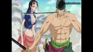 One Piece 560  zoro saves robin (German SUB)