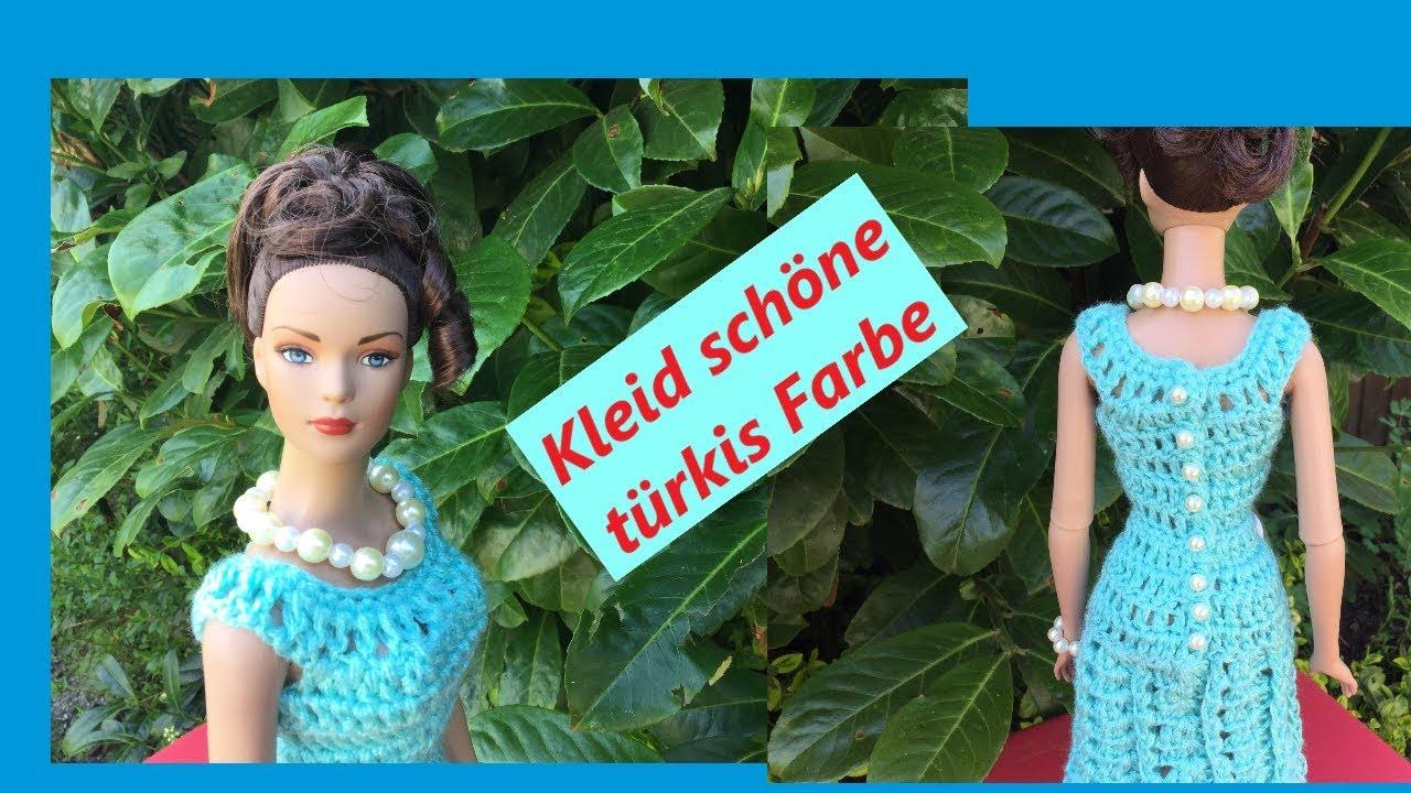 Barbie Kleid Selber Häkeln Youtube