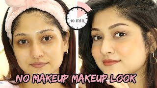 *NEW* Updated No Makeup Makeup Routine (Under 10 min!) | Skincare+Makeup hacks | Manasi Mau