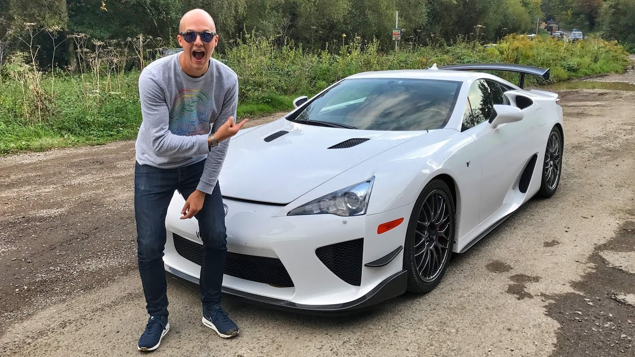 Driving A Lexus LFA For The First Time