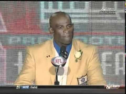 Deion Sanders Hall of Fame Speech