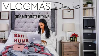CHRISTMAS DECORATING 2018   OFFICE & BEDROOM DECOR IDEAS   VLOGMAS Ep. 6