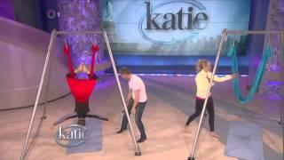Katie Couric Chelsea Handler Yoga (feet, soles)