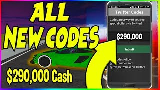 NEW WORKING CODES IN VEHICLE SIMULATOR | Roblox *WORKING*