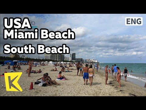 【K】USA Travel-Miami Beach[미국 여행-마이애미 비치]최고의 휴양지 사우스 비치/South Beach/Tower/Vacation/Surfer/Surfing