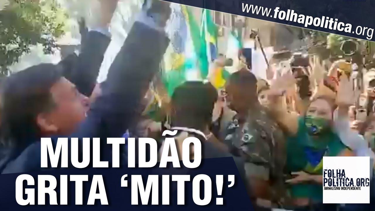 Bolsonaro é recebido por multidão no Rio Grande do Sul e aclamado ...