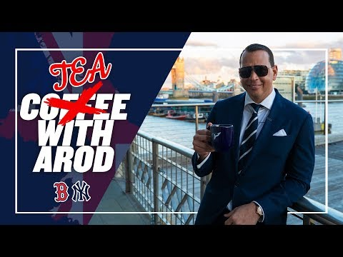 I REQUESTED HIGH TEA WITH THE QUEEN | TEA W/ AROD FROM LONDON