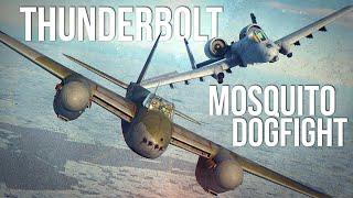 A-10C II Thunderbolt Vs Mosquito Dogfight | Digital Combat Simulator | DCS |