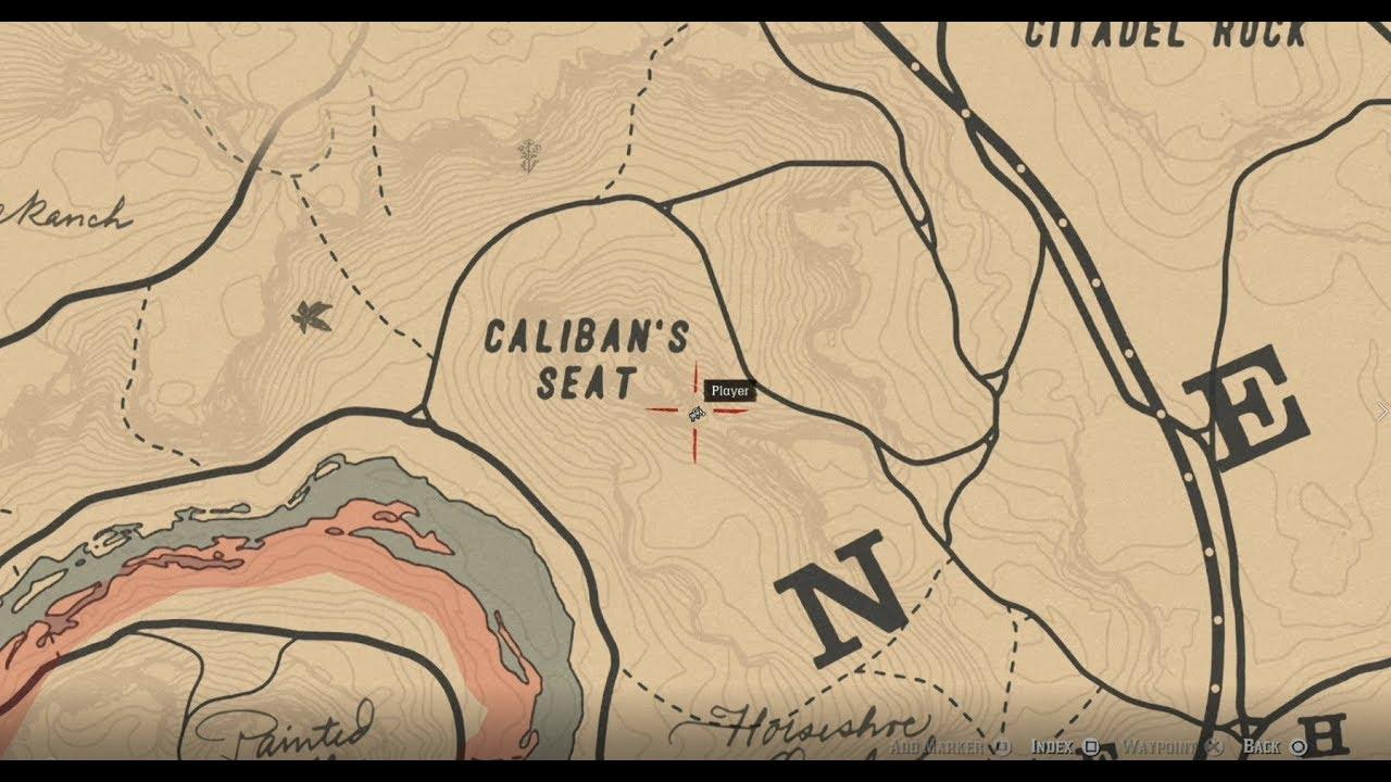 Jack Hall Gang Map 2