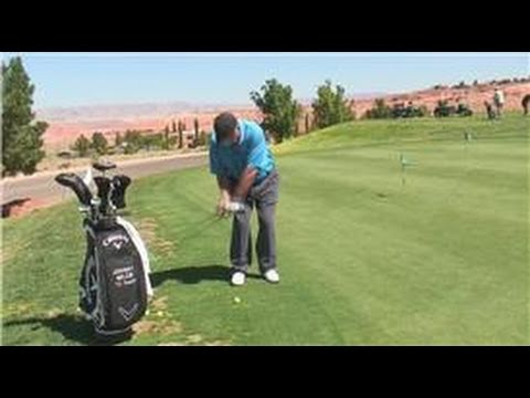 Golfing Tips : Back Swing Length for Golf Chipping Exercises