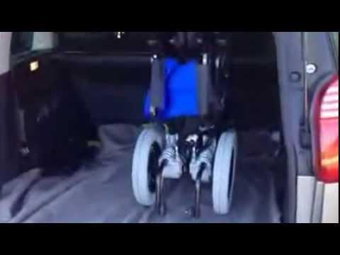 C mo colocar la silla de ruedas el ctrica en un veh culo youtube for La boutique de la silla