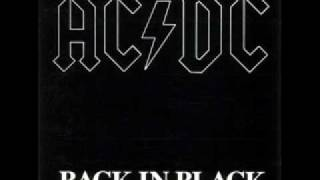 AC/DC - Back In Black - drumless backing track