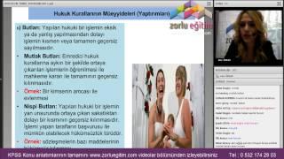 Gambar cover Vatandaşlık Kpss Eğitim Videoları Zorlu Eğitim -2- Anayasa