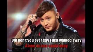 James Arthur - Wrecking Ball Karaoke