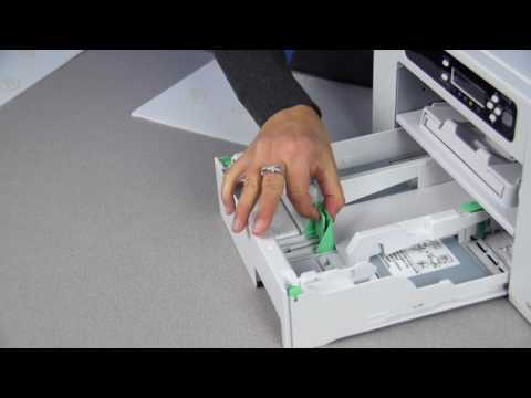 How to Adjust the Paper Tray for the Virtuoso Sublimation Printer SG400
