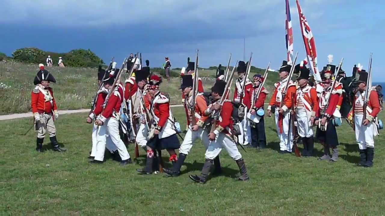 French Vs British Battle of Berry Head Reenactment