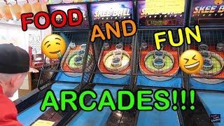 Food And Fun Arcades!!!