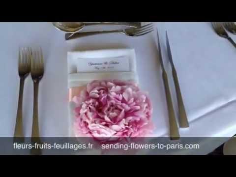 Fleurs Mariage au Tir aux Pigeons pour Fleurs, Fruits, Feuillages Paris
