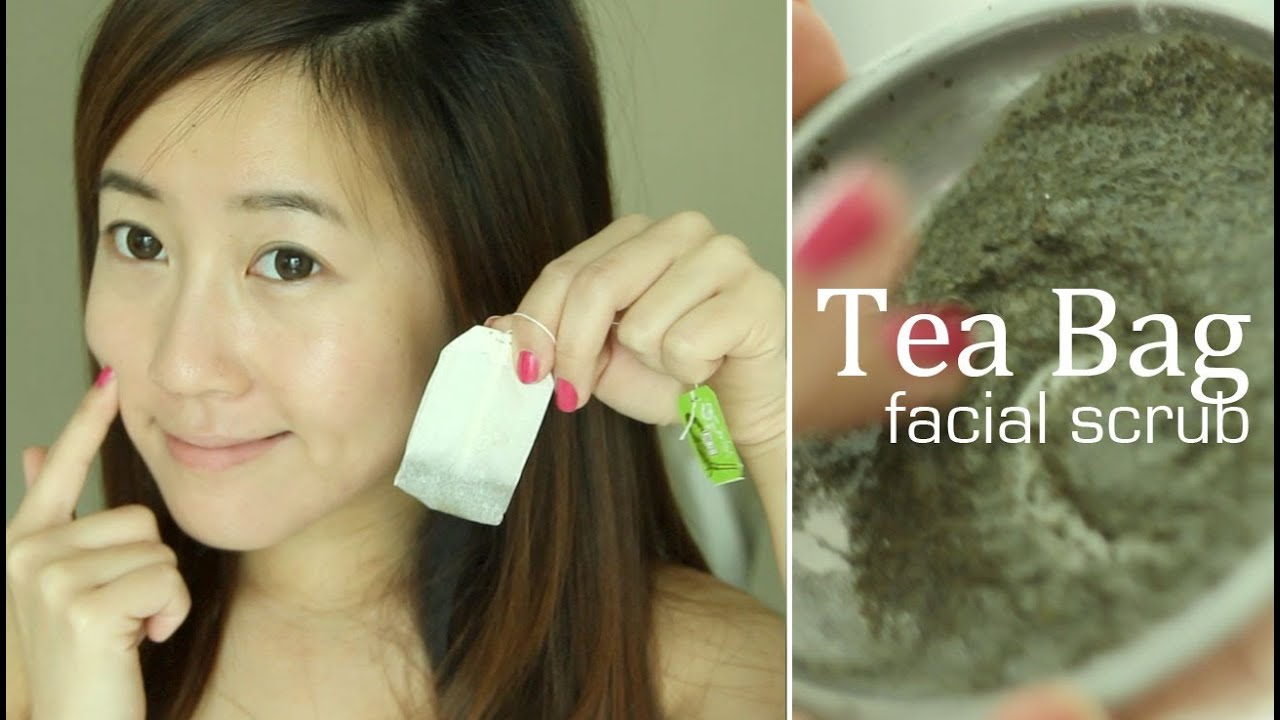 Tea Bag Face Scrub Youtube Ovale Facial Mask Sachet Tomat