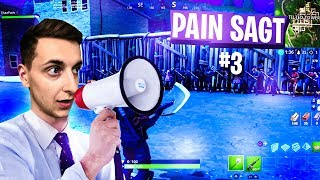 PAIN SAYS WITH QUIZDUELL! Fortnite Battle Royale | Pain