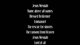 Jesus Messiah - Chris Tomlin (with lyrics)