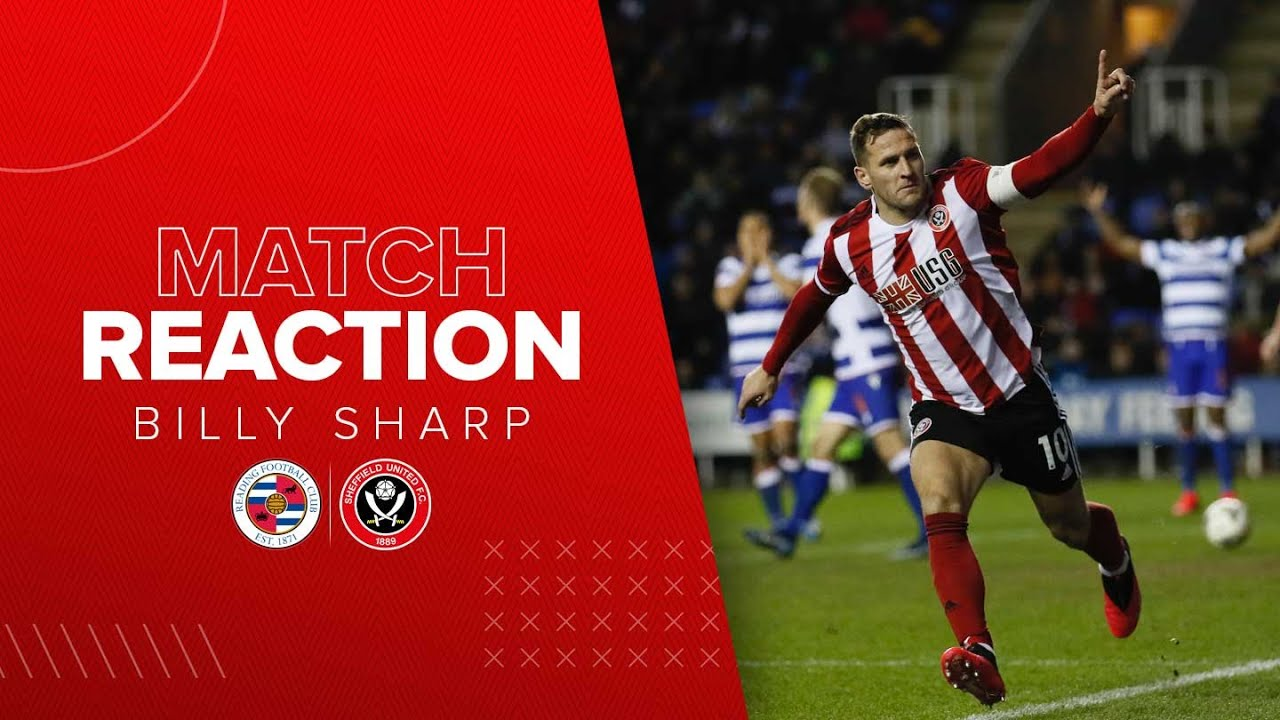 Download Billy Sharp | Reading v Sheffield United | FA Cup reaction