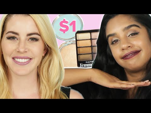 Women Try $1 Makeup