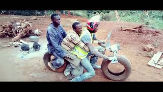 Funny kenyan videos motorbike ride