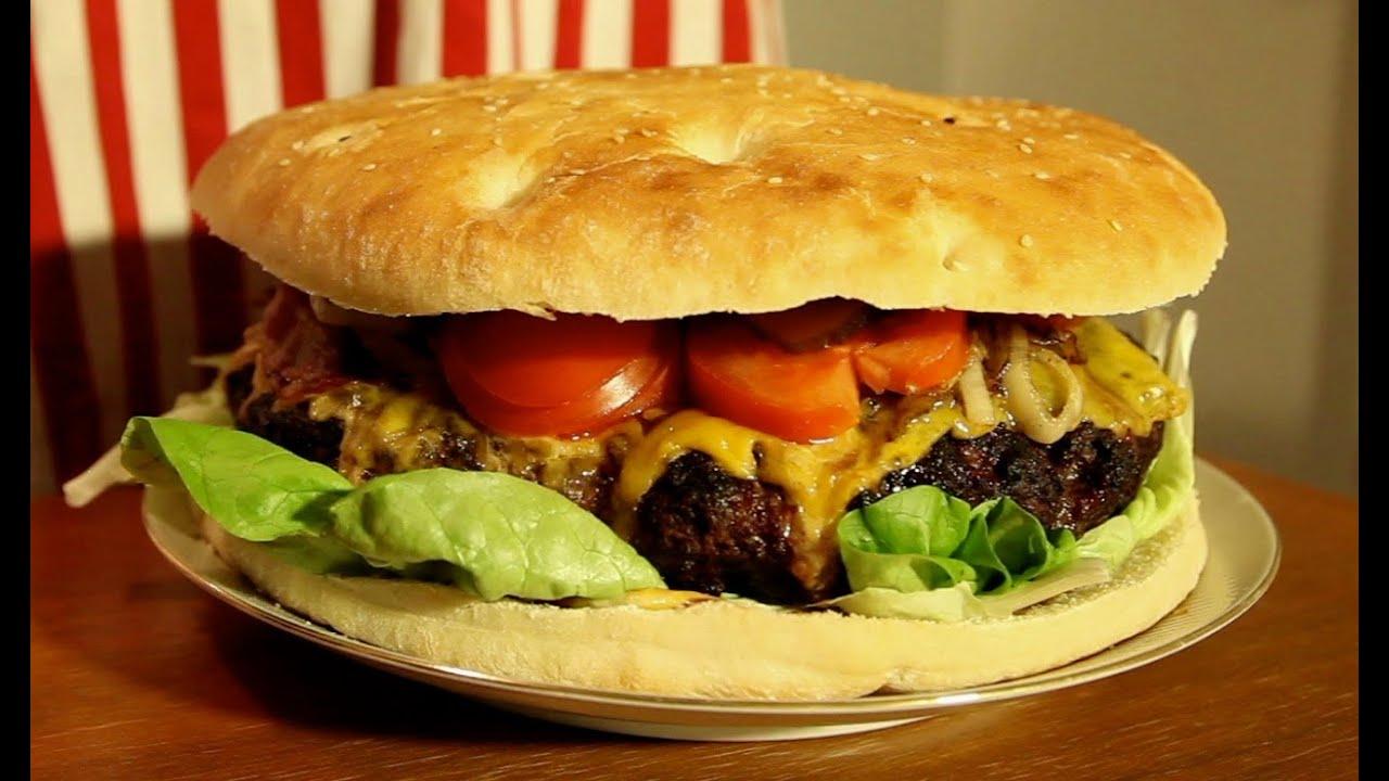 die grillshow 24 xxl mega burger youtube. Black Bedroom Furniture Sets. Home Design Ideas