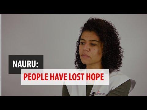 "Nauru: ""Even animals are better treated than us"""