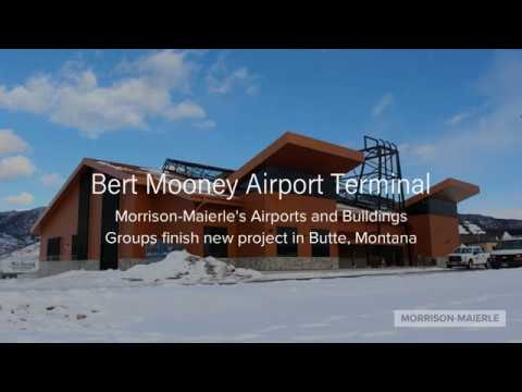 Bert Mooney Airport Terminal Building - Morrison-Maierle