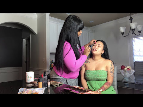 Lovely Mimi real Makeup tutorial with @_makeupbybarbee_