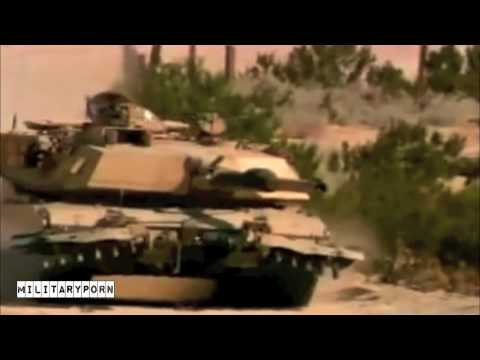 M1A1 Abrams Tank Amazing Video - MilitaryPorn