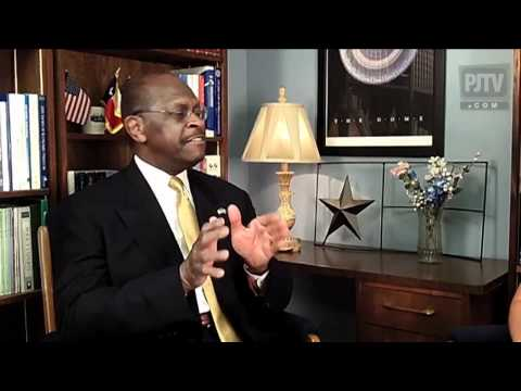 PJTV: Herman Cain is the Outsider with Uncommon Sense