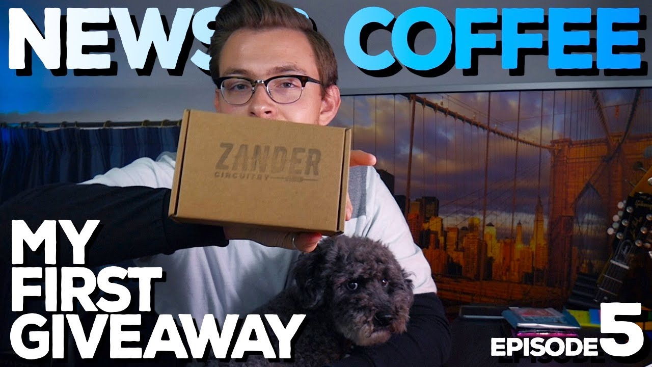 NEWS & COFFEE #5 (Birthday Giveaway, Kurt Cobain's Martin, Fender Player Series & Spruce Effects)