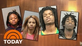 Facebook Live Attack: 4 Teens Due In Court, Will Face Hate Crime Charges | TODAY