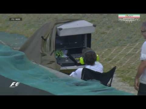 Fernando Alonso the cameraman.