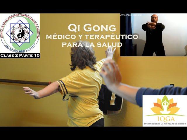 Clase 2 Parte 10: Ejercicios de elongación y calentamiento - Profesorado de Qi Gong médico