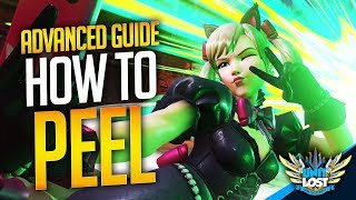 How to Peel! (Supports Wİll LOVE you!) - Overwatch Advanced Guide