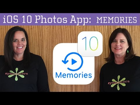 iOS 10 - Memories (Photo App)