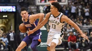 Bucks 1st Game Without Kidd! Middleton 35 Pts Brogdon 32! 2017-18 Season